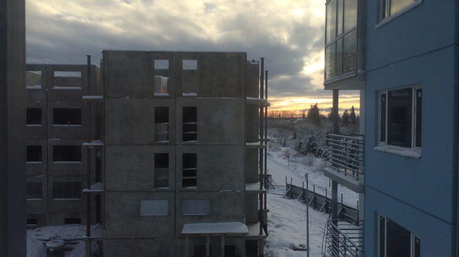 Еще один этаж седьмого корпуса возведен
