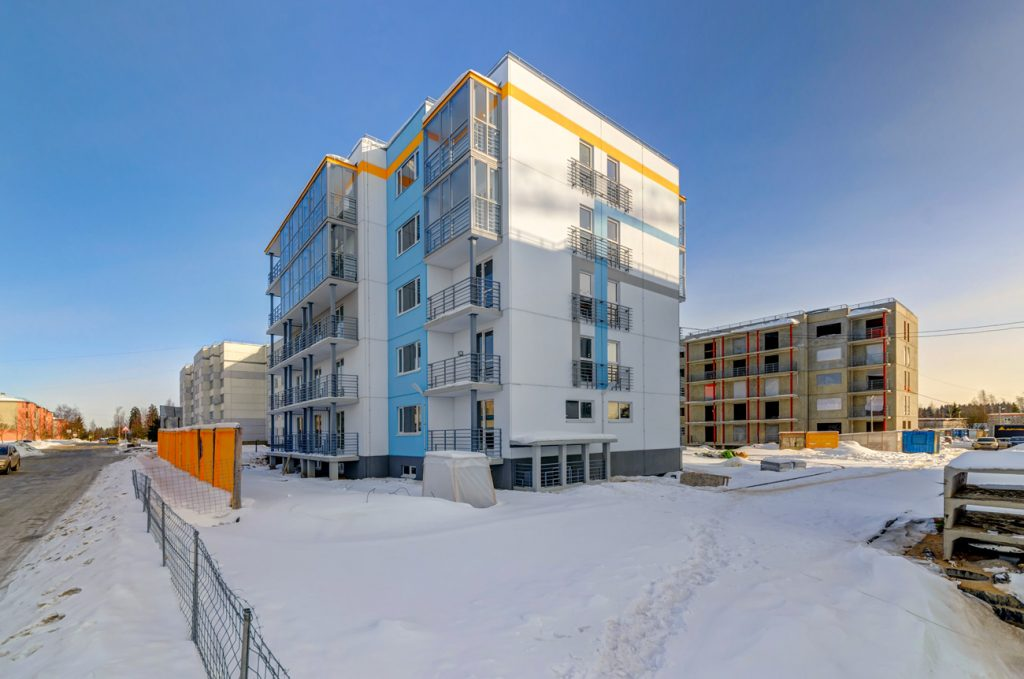 Жилой комплекс 84 Высота в агалатово квартиры и цены