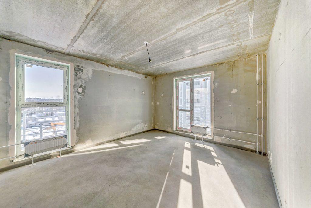 квартира без отделки в жилом комплексе 84 Высота