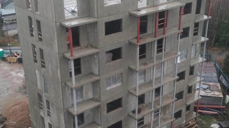 В пятом корпусе построено 7 этажей!